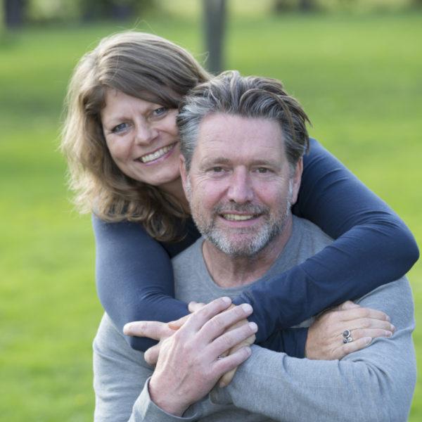 Peter Henssen en Katja Visser